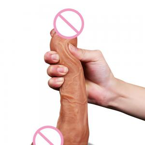 Huge Dildo 9 Inch Large Thick Long Realistic Real Feel Suction Cup Dildo Sex Toy