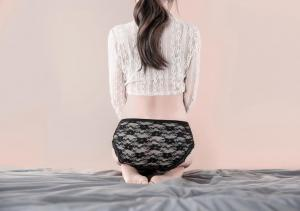 2020 New design Hotsell young girls lace panty