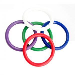 5 Pcs/Set Delay Ejaculation Multicolor Medical Grade Soft Silicone Cock Ring Set