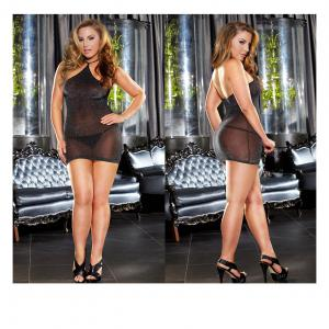Hot Sales Sexy Lingerie Sexy Halter Dress For Plus Size Ladies' With Latest Design