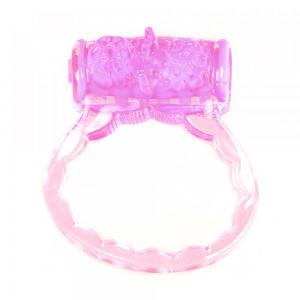 Silicone Vibrating Cock Ring Mens Vibrator Flexible Time Delay Ring- Premium Quality Silicone