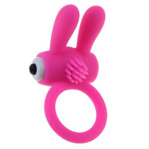 Vibrate Adult Pleasure Toy Cock Ring with Ears