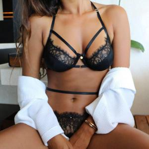 women leather sexy lingerie lace bralette lingerie nightwear