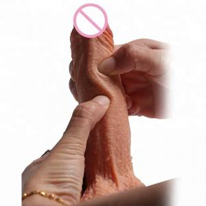 Factory 8 inch penis big dildo vibrator made of Health and Safe medical silicone material long thin Dildo