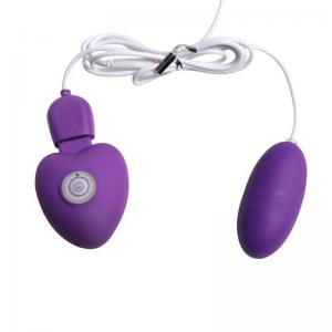 10 Function Powerful Vibrating Bullet for Clit Stimulation, Purple Waterproof Vibrating Love Bullet Vibrator