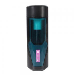 Sucking Electronic Massage Pocket Pussy Stroker Cup,  Male Strong Sucking Vibrating Toys for Men