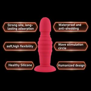 Big dildo strong suction box packed anal bead butt plug Male Prostate Massage Female Anus Expansion adult product sex toys shop