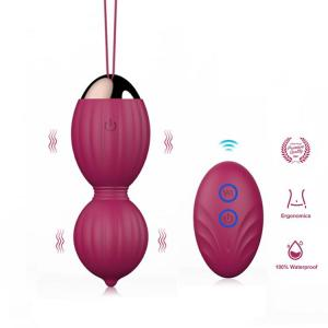 2020 new design ben wa kegel ball vibrator with remote controller sex toy for women