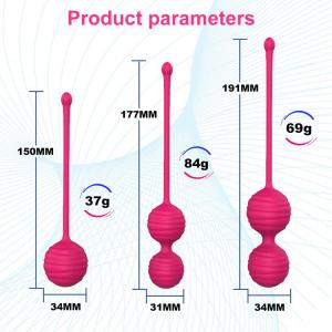 2020 weighted kegel ball 3 pieces set exercises medical balls for women