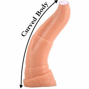FAAK 26.9cm realistic Elephant dildo wholesale sex toys Juguetes sexuales butt plug sex toys anal animal dildo for women