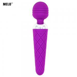 Hot Sale Silicon Sex Toys Electric AV Wand With 12 Frequency Vibration Vibrator For Women Couple