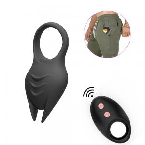 Silicone Cock Ring Remote Control Vibrating Cock Ring